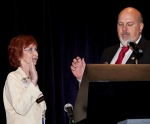 D'Anna Taking the Oath of Office from Current TMAA President, Patrick Hearn.