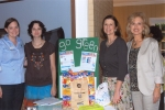 October Meeting - Keep Texas Star's Clean by Going Green - Presenter Christi Boyette with Volunteer Jessica.
